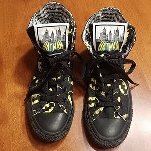 Converse Batman sneakers
